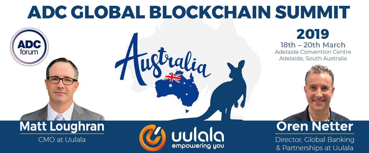 Article of Uulala at The ADC Global Blockchain Summit in Australia