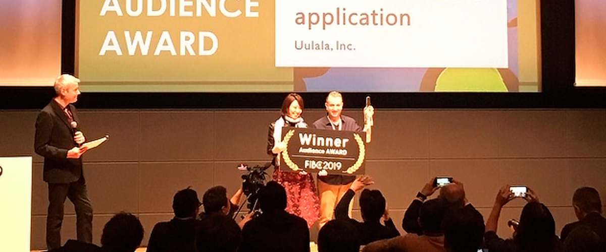 Uulala Wins Audience Award at FIBC FinTech Conference in Tokyo