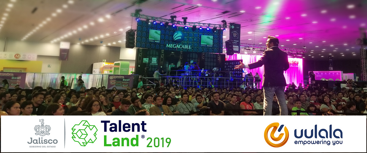 Uulala Sponsors Blockchain land at Talent Land Mexico